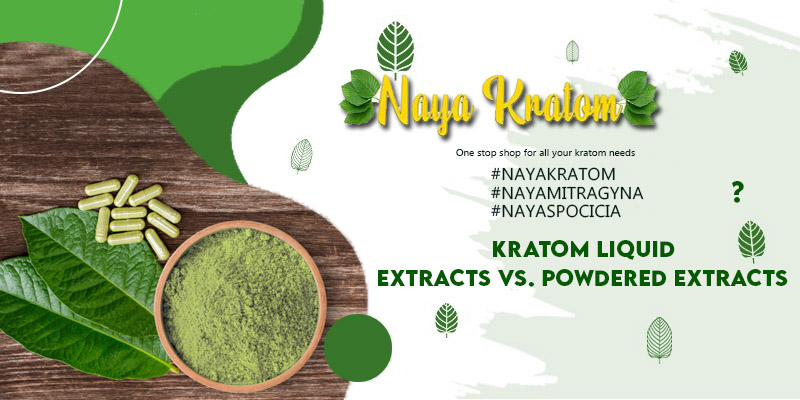 Kratom Liquid Extracts vs Powdered Extracts