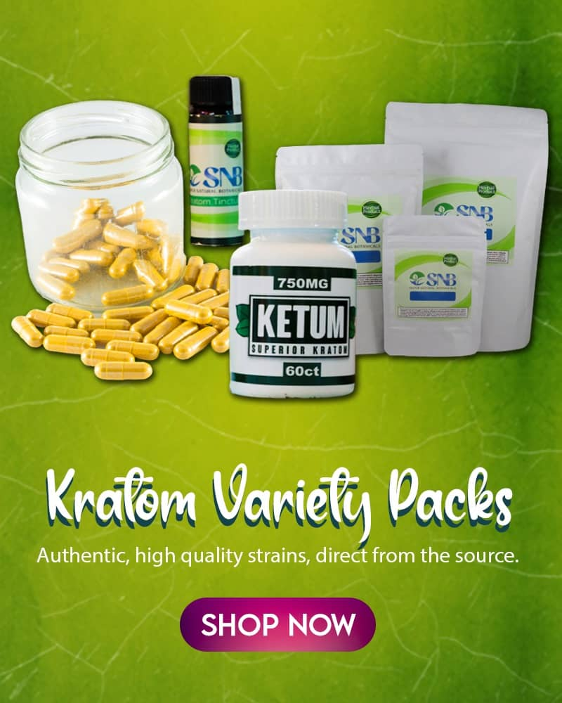 kratom sampler packs variety packs mitragyna speciosa