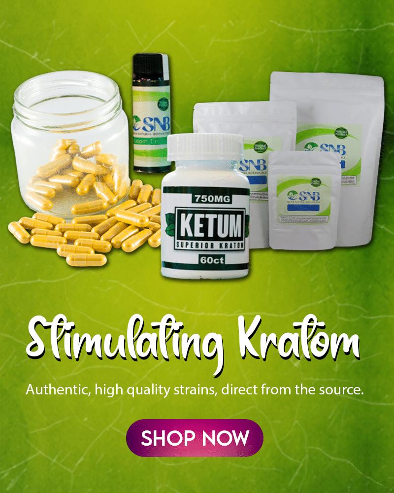 Stimulating Kratom Strains